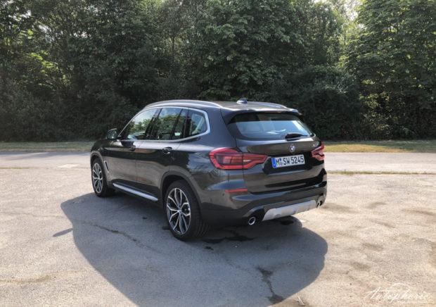 BMW X3 xDrive20d xLine Heck