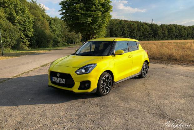 Suzuki Swift Sport Gelb