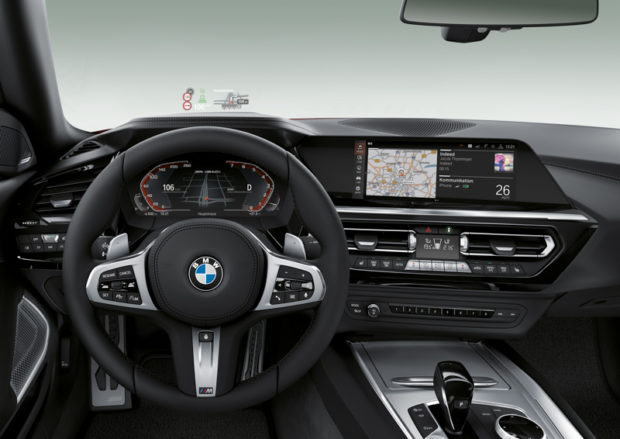 2019 BMW Z4 Roadster Cockpit