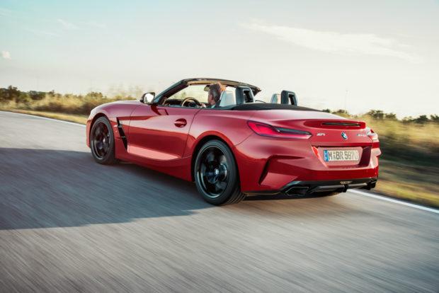 2019 BMW Z4 Roadster Heckansicht