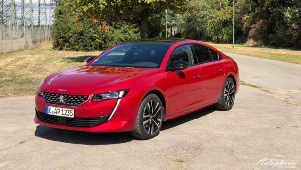 Peugeot 508 GT Ultimate Red