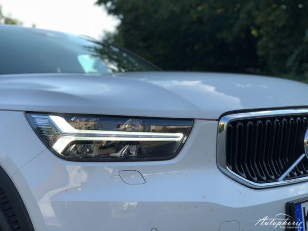 2019 Volvo XC40 T3 Momentum LED-Tagfahrlicht
