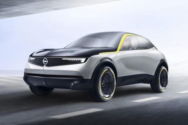 Opel GT X Experimental Fahrend