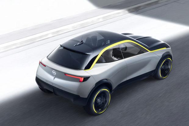 Opel GT X Experimental Draufsicht