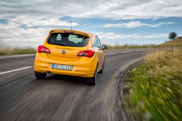 2018 Opel Corsa GSi Heck