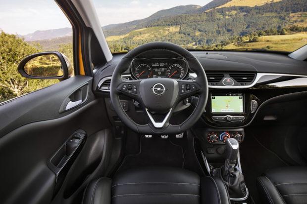 2018 Opel Corsa GSi Lenkrad