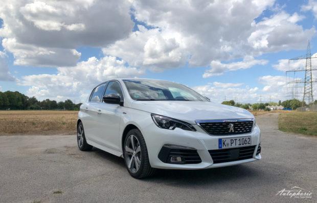 Peugeot 308 BlueHDI 130 GT Line Front