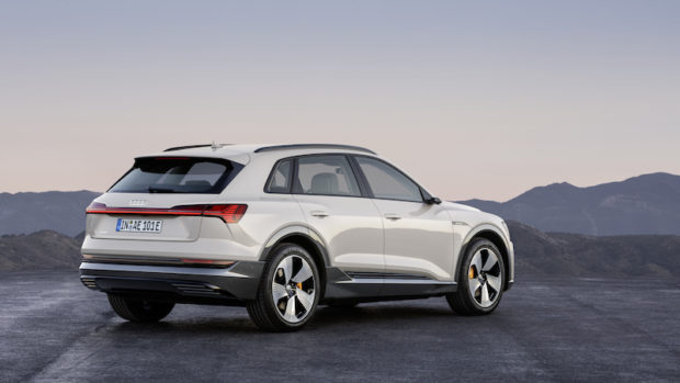 2019 Audi e-tron Siam beige