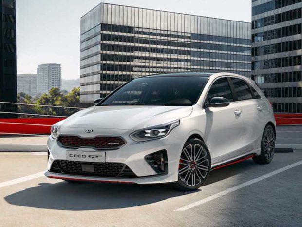 2019 Kia Ceed GT weiss