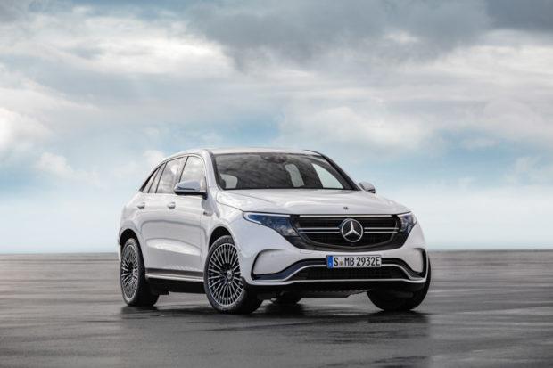2019 Mercedes-Benz EQC AMG Line Front
