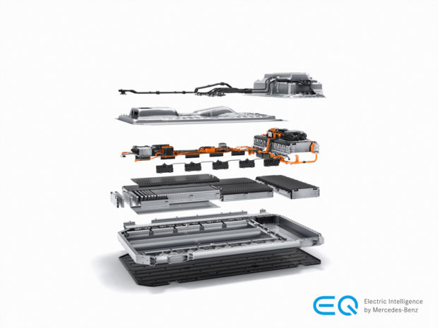 2019 Mercedes-Benz EQC Batterie-Pack