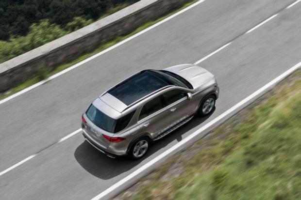 Mercedes-Benz GLE BR 167 Draufsicht