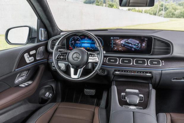 Mercedes-Benz GLE BR 167 Cockpit
