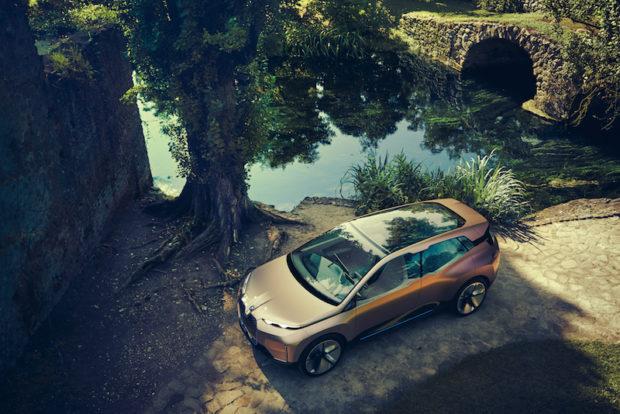 BMW Vision iNext Draufsicht