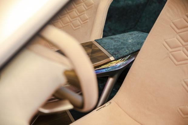 BMW Vision iNext Mittelkonsole