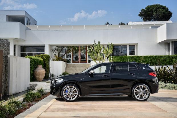 BMW X2 M35i Seitenansicht