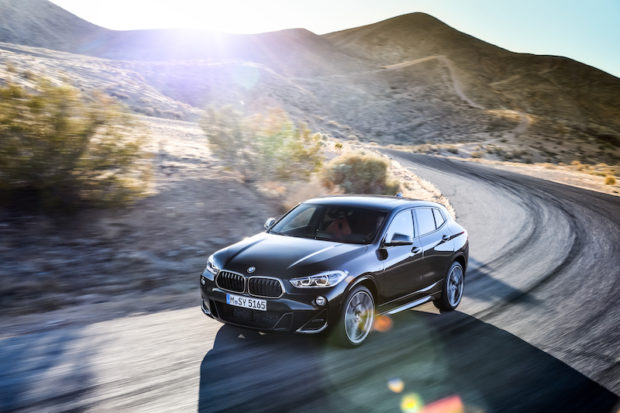 BMW X2 M35i Draufsicht