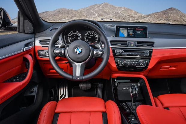 BMW X2 M35i Cockpit