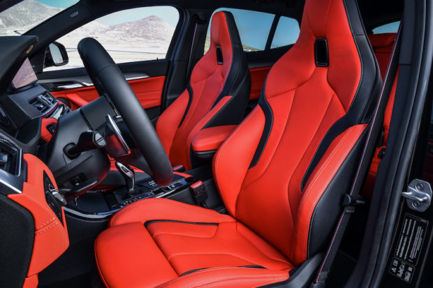 BMW X2 M35i Integral-Sportsitze