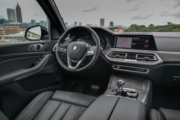 BMW X5 xDrive40i xLine Interieur