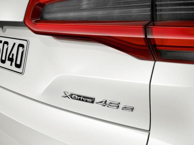 BMW X5 xDrive45e iPerformance Schriftzug