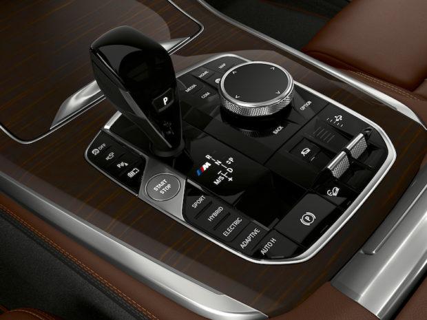 BMW X5 xDrive45e Mittelkonsole