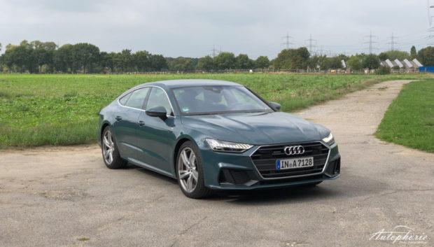 Audi A7 Sportback Avalon Grün