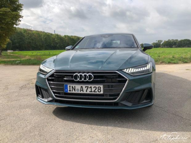 Audi A7 Sportback Grill Avalon Grün