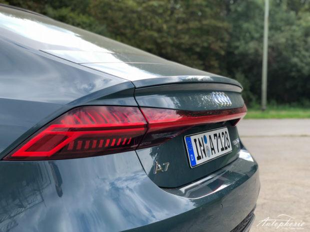 Audi A7 Sportback Heck Avalon Grün
