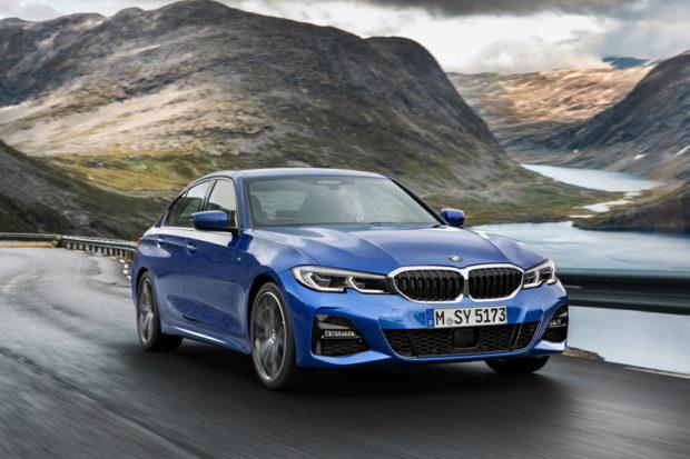 BMW 3er Limousine G20 Blau