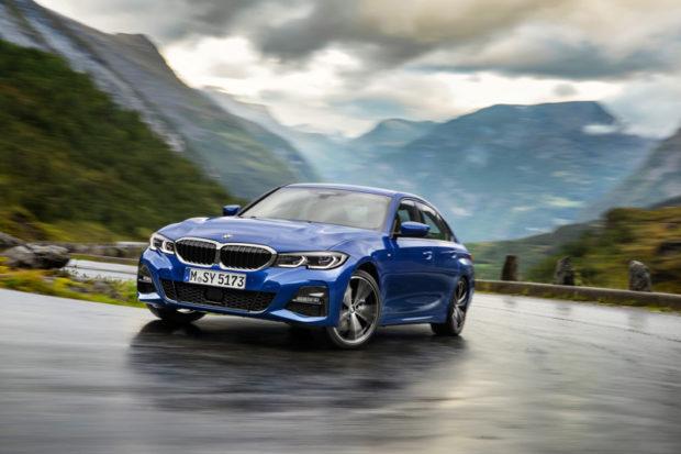 BMW 3er Limousine G20 Portimaoblau