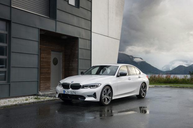 BMW 3er Limousine WEiss