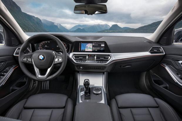 BMW 3er Limousine G20 Cockpit