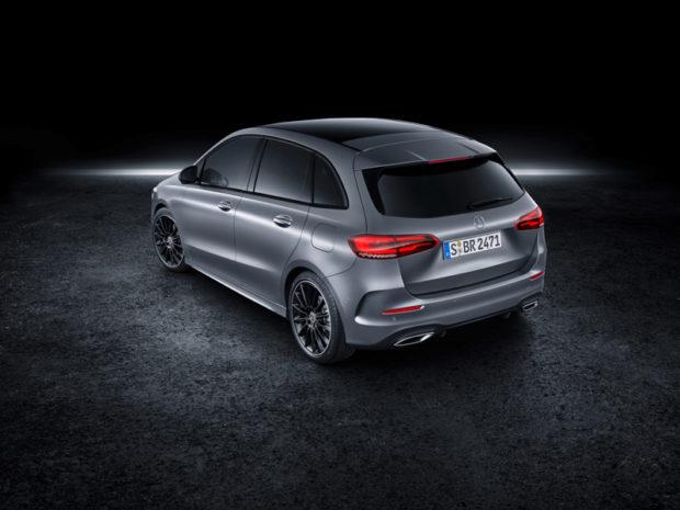 2019 Mercedes-Benz B-Klasse Draufsicht