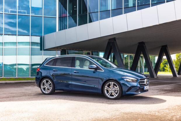 2019 Mercedes-Benz B-Klasse Seitenlinie