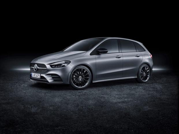 2019 Mercedes-Benz B-Klasse Front Grau