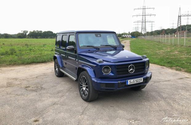 Mercedes-Benz G 500 designo mysticblau bright