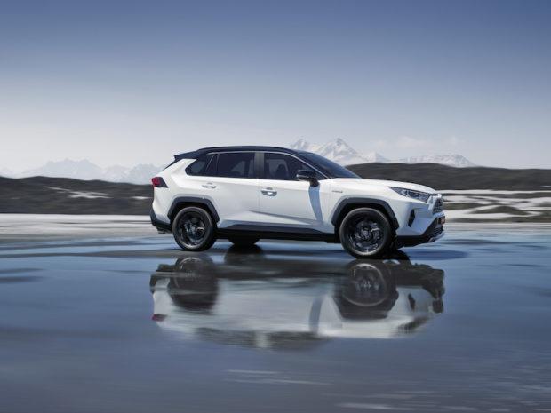 Toyota RAV4 Hybrid Seitenansicht