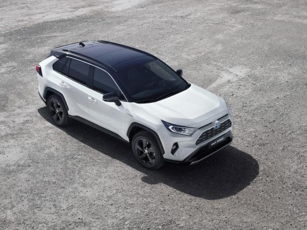 Toyota RAV4 Hybrid Draufsicht