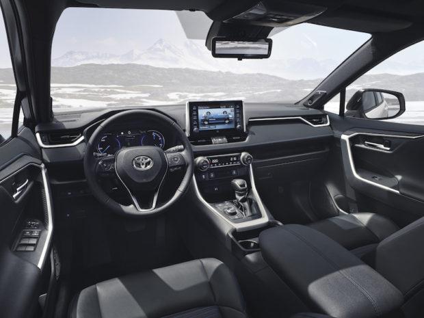 Toyota RAV4 Hybrid Cockpit