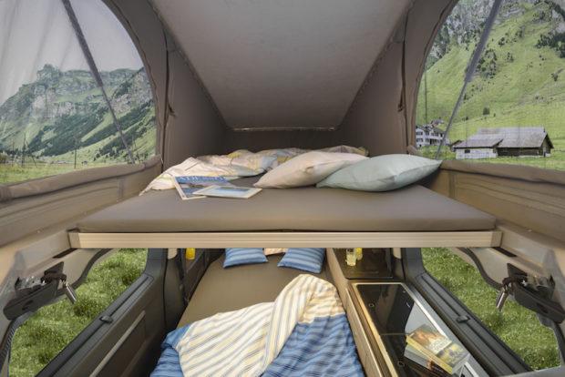 Citroen Campster Pössl Hochdach-Bett