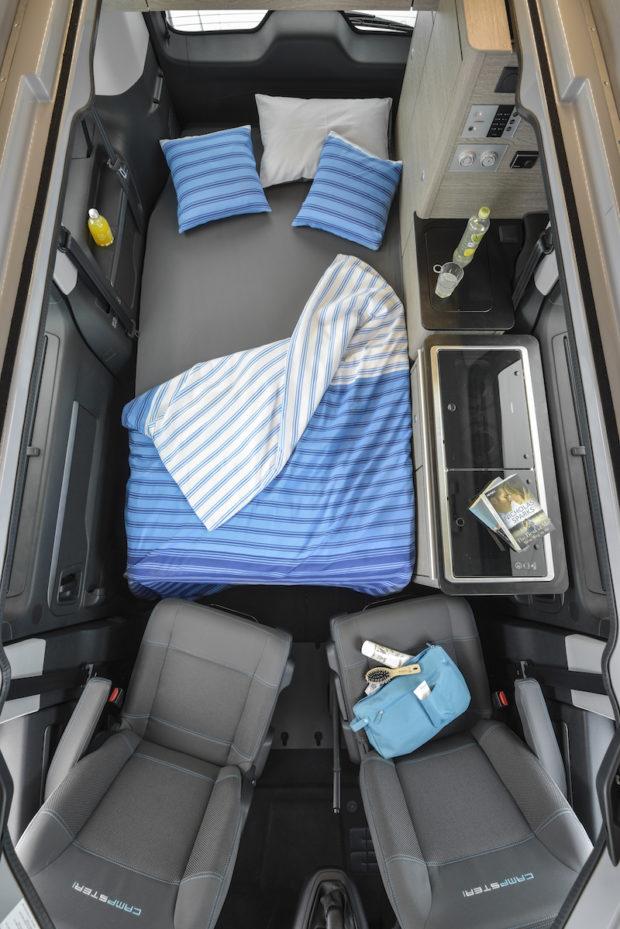 Citroen Campster Pössl Bett unten