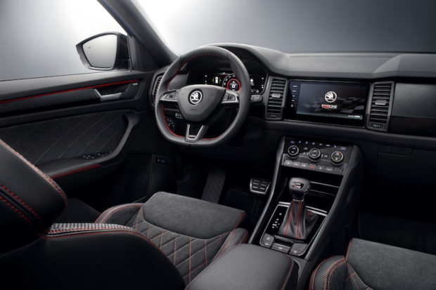 Skoda Kodiaq RS Interieur