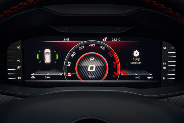 Skoda Kodiaq RS Virtual Cockpit