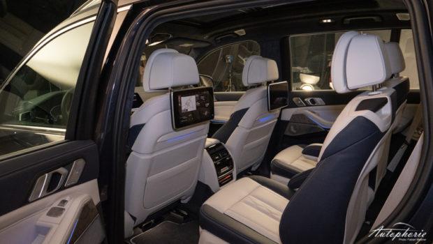 BMW X7 (G07) zweite Sitzreihe
