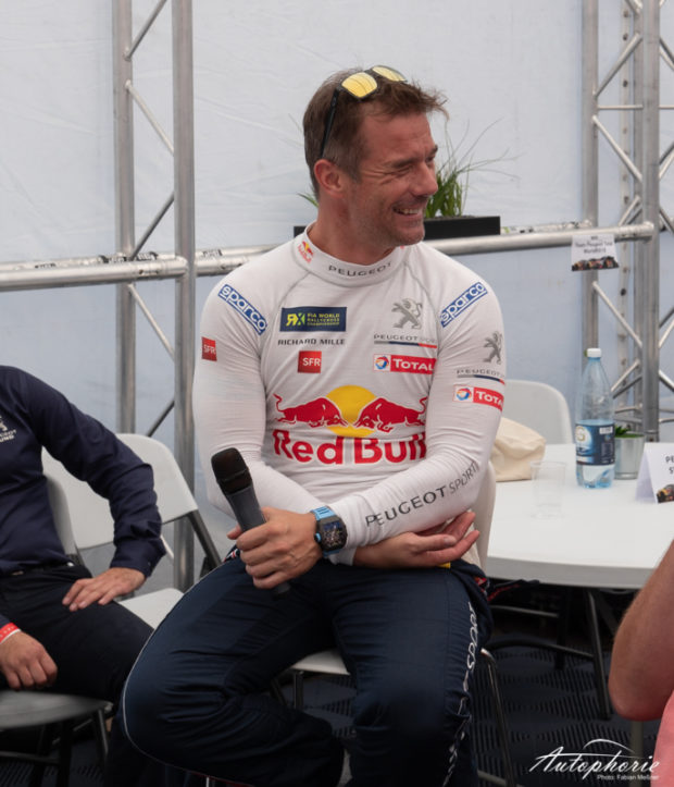 World RX Estering 2018 Sebastien Loeb Interview