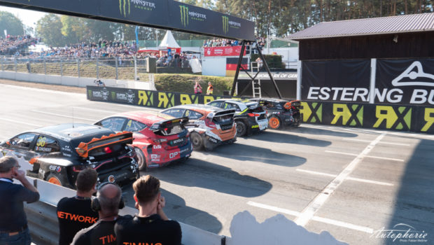 World RX Estering 2018 Starting Grid