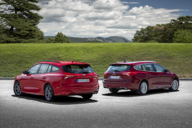 Ford Focus Turnier Vergleich ST-Line Vignale