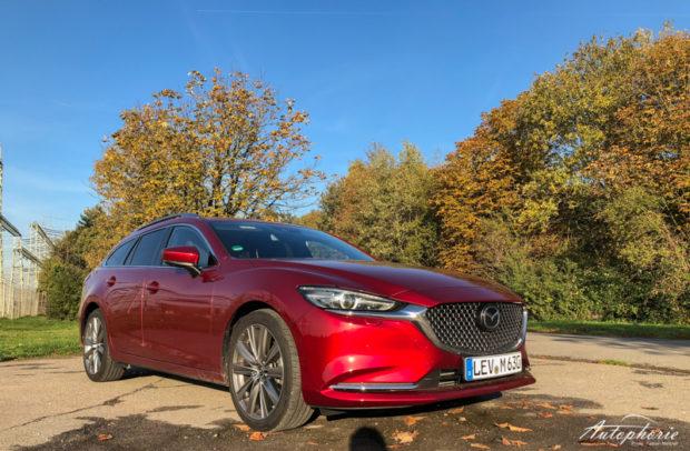 2018 Mazda6 Kombi Skyactiv-D 184 Front