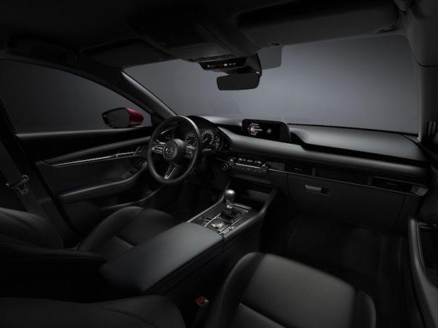 2019 Mazda3 Interieur schwarz